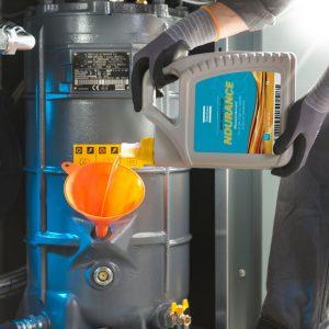 Óleo, lubrificantes e fluidos do compressor de ar